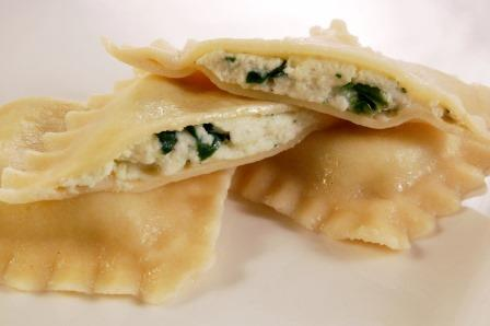 Spinach & Cheese Ravioli