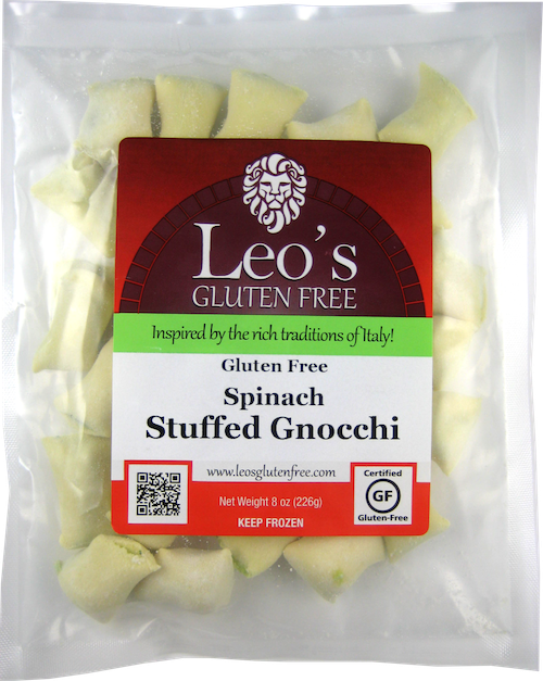 Spinach Stuffed Gnocchi Package